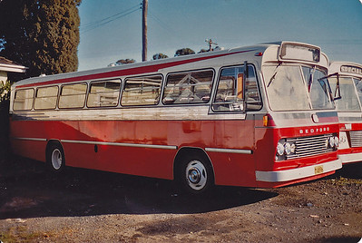 m/o 4896 BEDFORD VAM70/CCMC (6/74) (ex Evans m/o 5976) Photo Location: Katen & Heath Depot, Fairfield. Photo Date: 1983 (NOTE: To Bosnjak 11/76 with Evans Sale, then 1980 to Katen & Heath, Fairfield NSW (Silverline) as m/o 4896. De-reg 1996, then re-reg 4/97 as m/o 9239)
