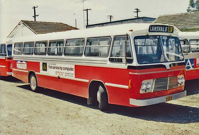m/o 5834 BEDFORD VAM70/CCMC (12/72) Photo taken at the depot in 1982.