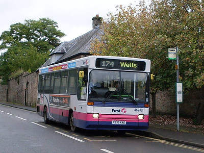 First 46239 (N239KAE), Wells, Somerset, 14th September 2010