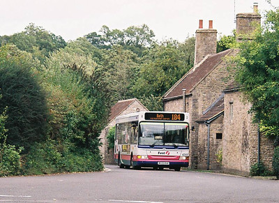 First 42897 (WX05RVA), Mells, Somerset, September 2010