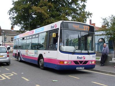 First 66206 (S806RWG), Street, Somerset, 14th September 2010