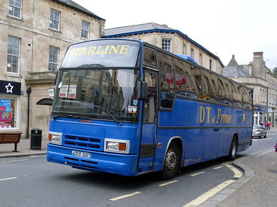 DT COaches CCZ2217, Frome, Somerset, 13th September 2010