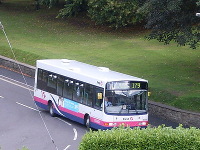 First 40593 (YG02DHY), MIdsomer Norton, 12th September 2010