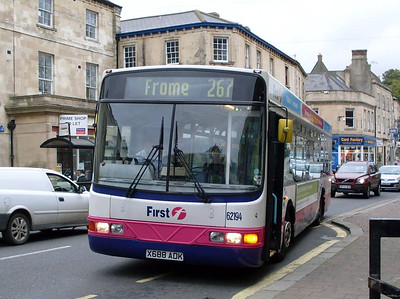 First 62194 (X688ADK), Frome, Somerset, 13th September 2010