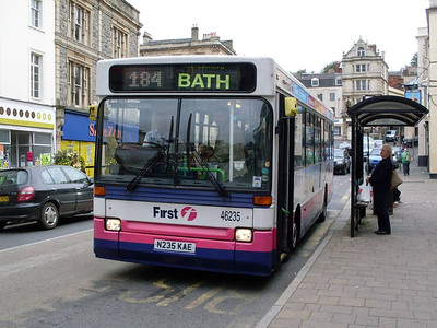 First 46235 (N235KAE), Frome, Somerset, 13th September 2010