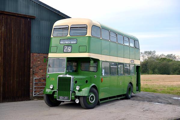 Wirral Bus & Tram Show 2012