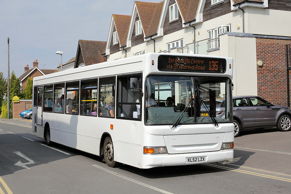 The Sussex Bus KL52LZX, Burgess Hill 21/7/2014