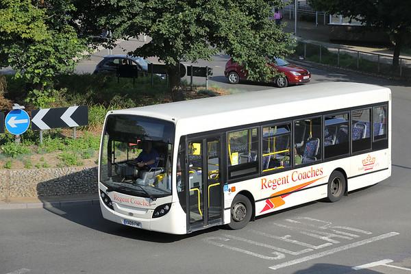 Regent Coaches YX09FNF, Canterbury 31/7/2014
