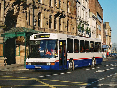 Another ex Trent Optare Delta in the Barnsley & District fleet was 311 (K331FAL).