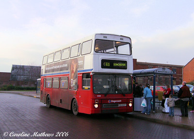 Stagecoach 15989 (POG602Y) was a MCW Metrobus Mk II which originated with West Midlands.