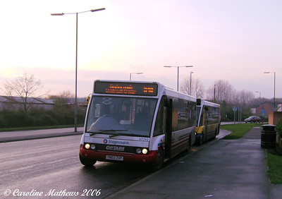 Laying over just down the road was ex Tracky Optare Solo 47293 (YN03ZXD).