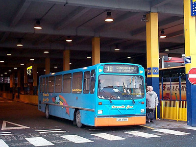 Powell's 30 (LUI3788) is a Wright bodied Dennis Dart in the South Bus Station