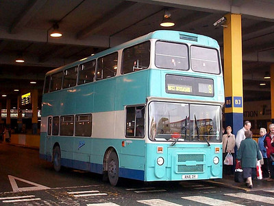 Leon 164 (ANA3Y) is an ex Greater Manchester PTE Northern Counties bodied Leyland Olympian, 27th December 2002