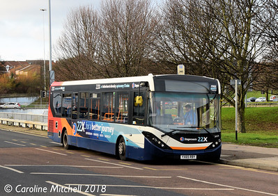 Stagecoach 26029 (YX65RBY), College Road,  Rotherham, 29th December 2018
