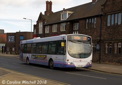 First 69053 (SF55UBO), Greasbrough Road, Rotherham, 29th December 2018