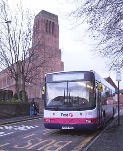 First 61523 (P764XHS), Hillsborough, Sheffield, 22nd December 2008