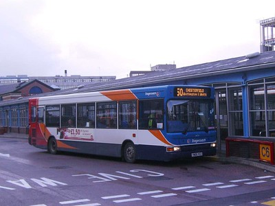 Stagecoach 34724 (YN05YCZ), Sheffield Interchange, 22nd March 2008