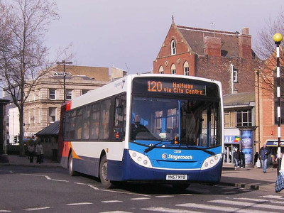 Stagecoach 22558 (YN57MYB), Flat Street, Sheffield, 22nd March 2008