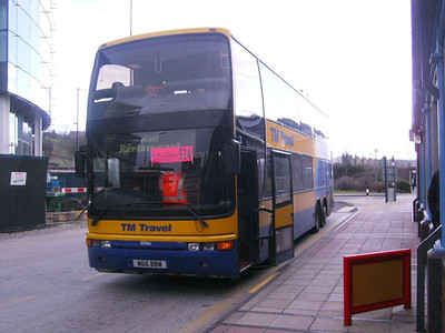 TM Travel W66BBW, Sheffield Interchange, 22nd March 2008