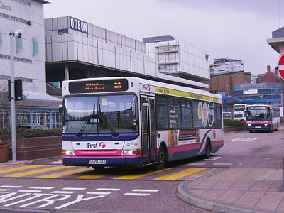 First 40533 (S528UAK), Sheffield Interchange, 22nd March 2008