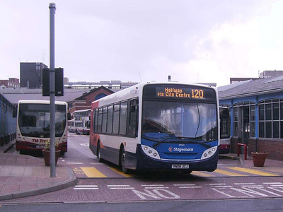 Stagecoach 22563 (YN08JCJ), Sheffield Interchange, 22nd March 2008