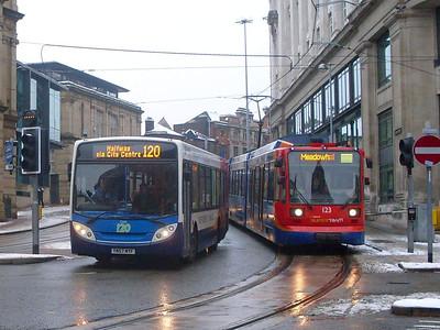 Stagecoach , Sheffield, 24th December 2009