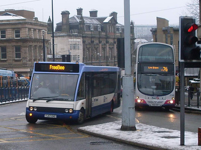 TM Travel YJ57EHC, Sheffield, 24th December 2009
