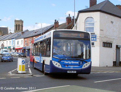 Stagecoach 22613 (YN08JGV), London Road, Sheffield, 9th August 2011