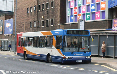 Stagecoach 31912 (LR02EHH), Flat Street, Sheffield, 10th August 2011