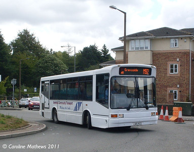 Sheffield Community Transport LN51RZZ, Chapeltown, 11th August 2011