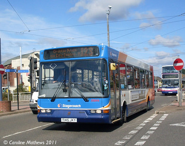 Stagecoach 33245 (T145JKY), Manor Top, Sheffield, 9th August 2011