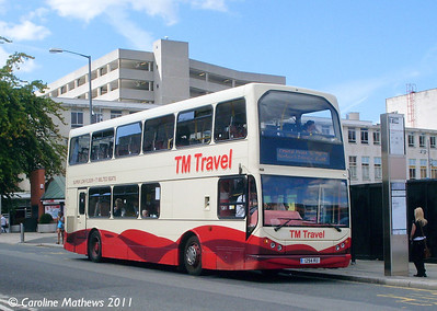 TM Travel 1167 (1294RU), Fitzwilliam Gate, Sheffield, 9th August 2011