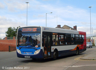 Stagecoach 22558 (YN57MYB), Manor Top, Sheffield, 9th August 2011