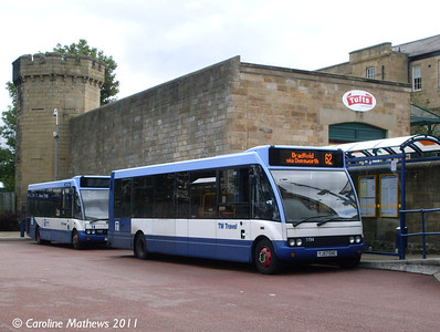 TM Travel 1194 (YJ57EHC), Hillsborough , Sheffield, 11th August 2011