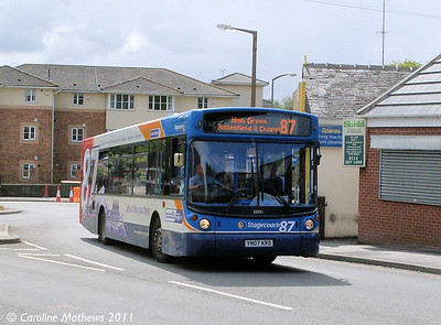 Stagecoach 22431 (YN07KRD), Chapeltown, 11th August 2011