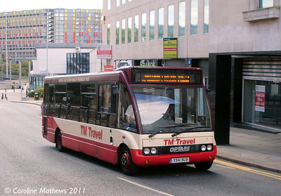 TM Travel 1151 (X941NUB), Commercial Street, Sheffield, 9th August 2011
