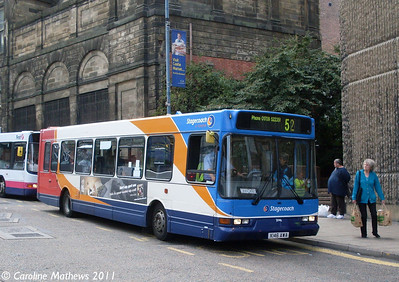Stagecoach , Sheffield, 9th August 2011