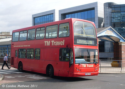 TM Travel 1171 (YN54SYG), Sheffield Interchange, 10th August 2011