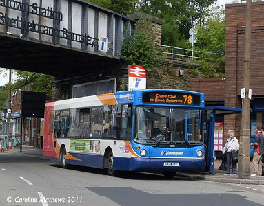 Stagecoach 22924 (S924CFC), Chapeltown, 11th August 2011