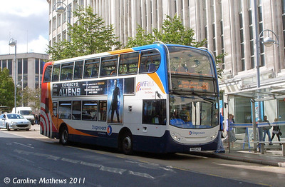 Stagecoach 15689 (YN60ACY), Angel Street, Sheffield, 9th August 2011