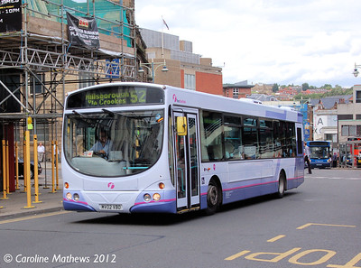 First 60721 (MV02VBO), Sheffield, 2nd August 2012