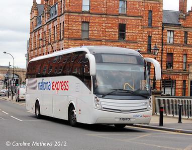 Your Bus 4101 (FJ56PCF), Lady's Bridge, Sheffield, 11th May 2012