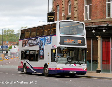 First 33230 (LT52WXH), Nursery Street, Sheffield, 11th May 2012