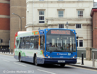 Stagecoach 26110 (W481MKU), Lady's Bridge, Sheffield, 11th May 2012