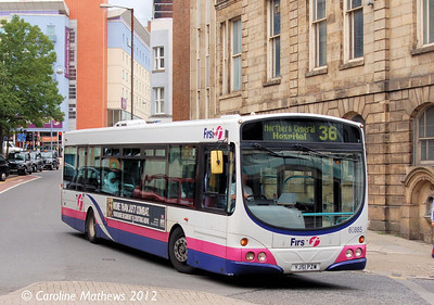 FIrst 60885 (YJ51PZW), Sheffield, 2nd August 2012