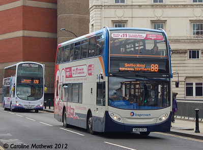 Stagecoach 15714 (YN60CKJ), Lady's Bridge, Sheffield, 11th May 2012