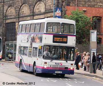 First 34246 (P246HMD), Waingate, Sheffield, 11th May 2012