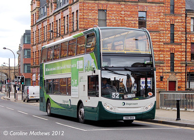 Stagecoach 12107 (YN61BHA), Lady's Bridge, Sheffield, 11th May 2012