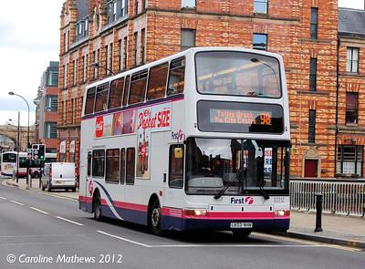 First 32312 (LK03NHN), Lady's Bridge, Sheffield, 11th May 2012