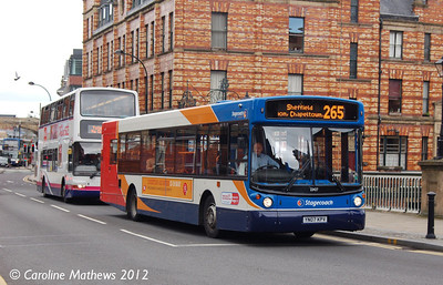 Stagecoach 22427 (YN07KPV), Lady's Bridge, Sheffield, 11th May 2012